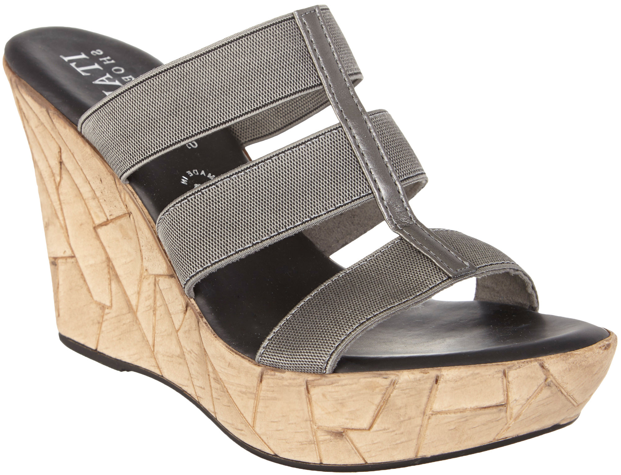 italian shoemakers womens mystic wedge sandals ebay