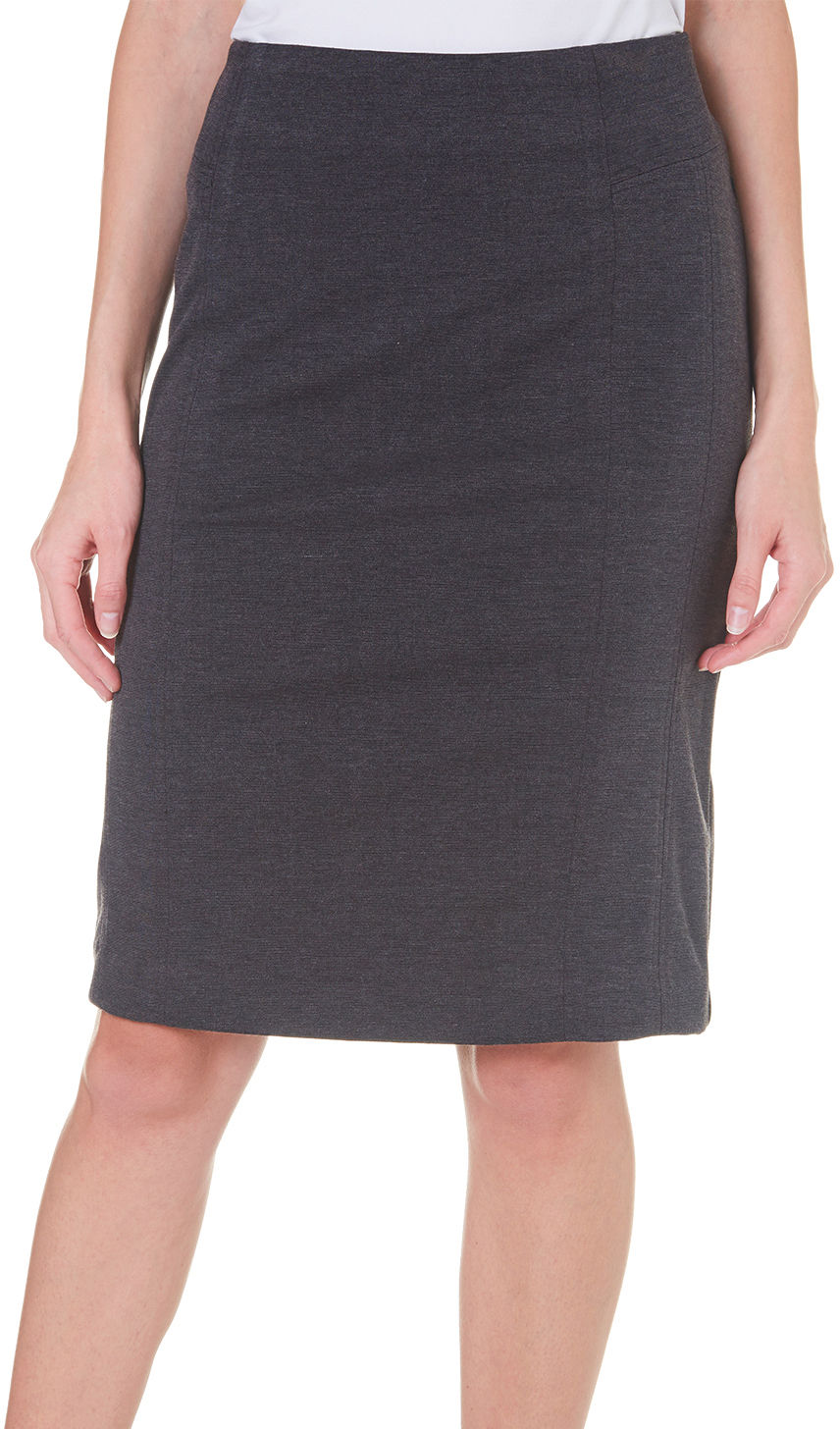 counterparts womens seamed ponte knit skirt ebay