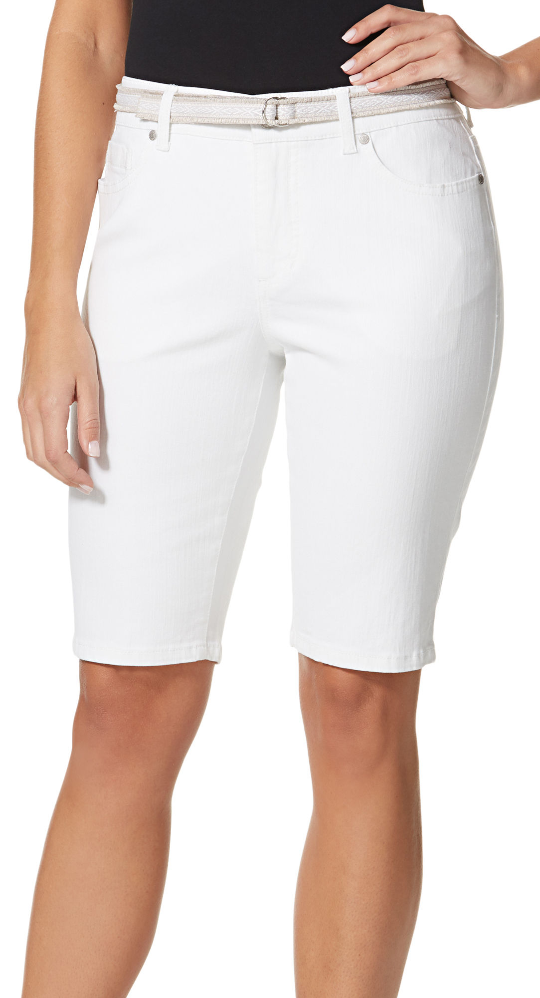 Create a wide array of ensembles with essential bermuda shorts for women from Old Navy. Classic Everyday Looks. With these classic bermuda shorts for women from Old Navy the possibilities are endless for creating multiple stylish outfits.
