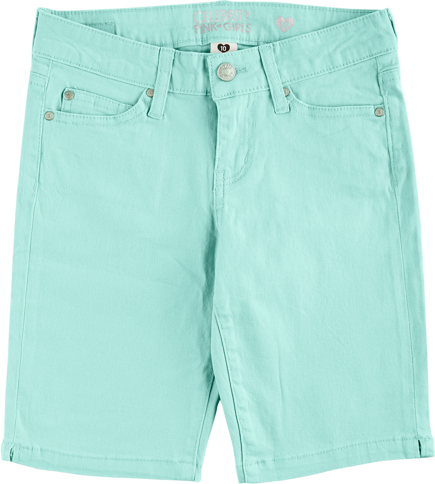 Girls' shorts are a cute and comfortable warm-weather staple for any young lady. Whether she loves colorful knits or classic denim, she'll find a wide selection of options that suit her style. Sears offers quality designs for every body type, including girls plus and girls slim fits.