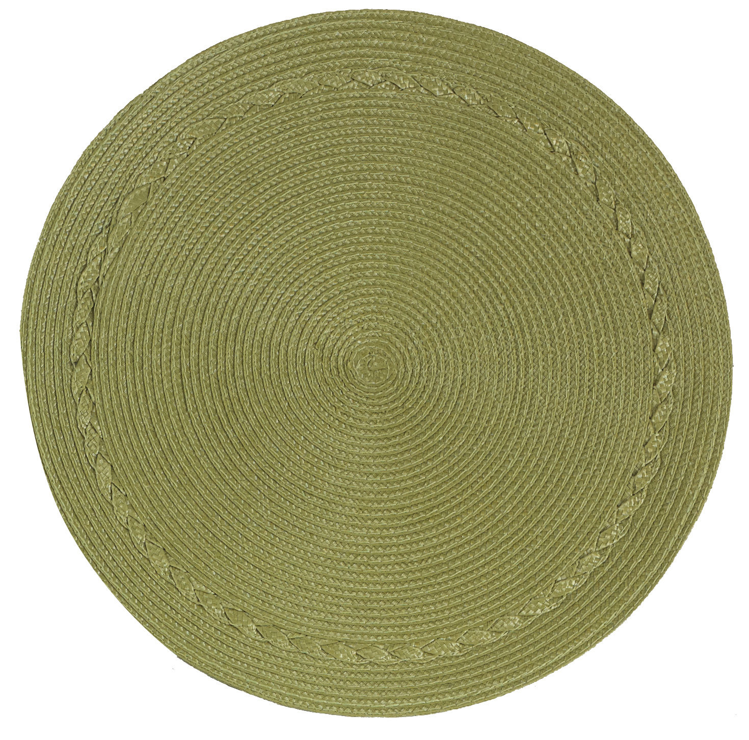 kay dee designs braided round placemat ebay. Black Bedroom Furniture Sets. Home Design Ideas