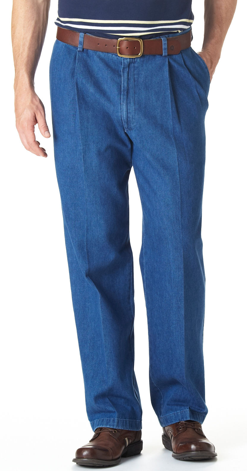 Haggar Work-to-Weekend Pleated Pants | eBay