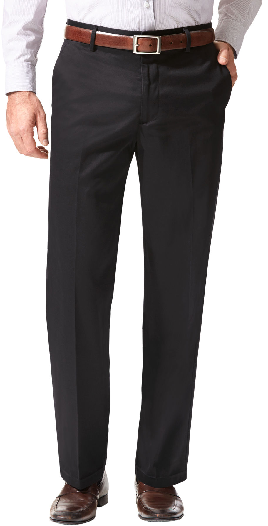 Dockers Mens Signature Straight Flat Front Pants Ebay