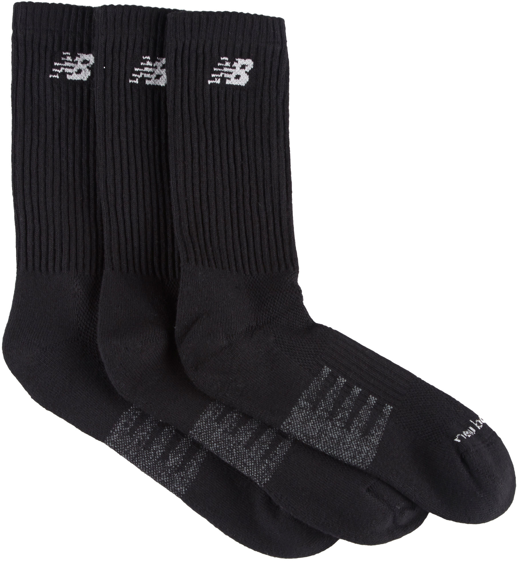 New Balance Mens 3-pk. Core Performance Crew Socks