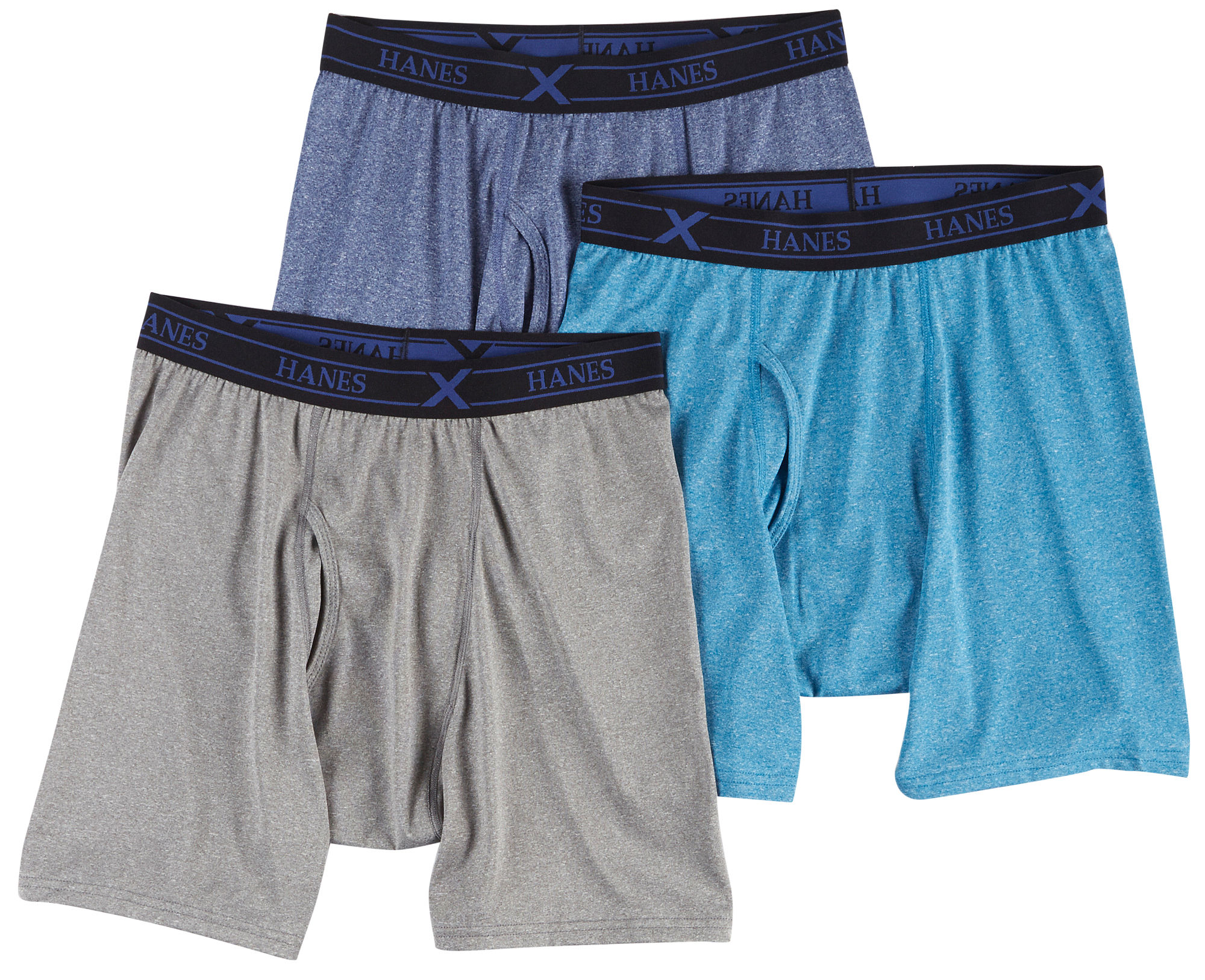 Hanes Mens 3 PK Ultimate x Temp Boxer Briefs | eBay