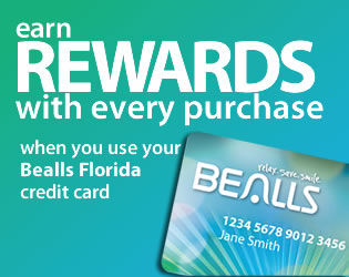 Bealls Florida Credit Card Rewards