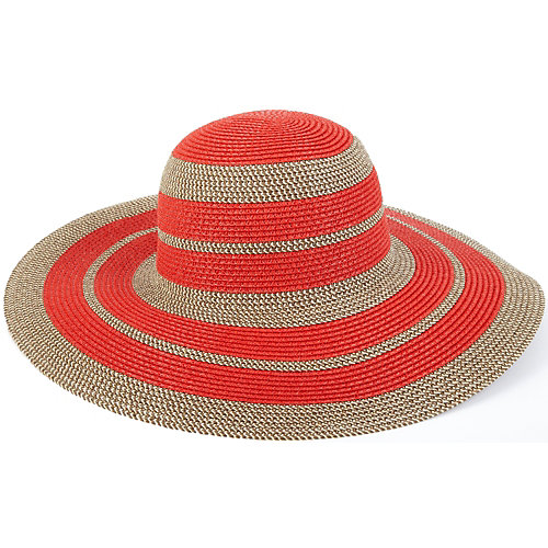 Nine West Spiced Stripe Floppy Hat