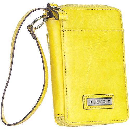 Relic Heather Multifunction Logo Cell Phone Wallet
