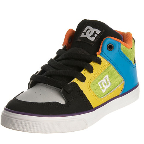 Buy dc shoes for kids - DC Shoes Radar Mid Boys Skate Shoes-5 M Youth Multi