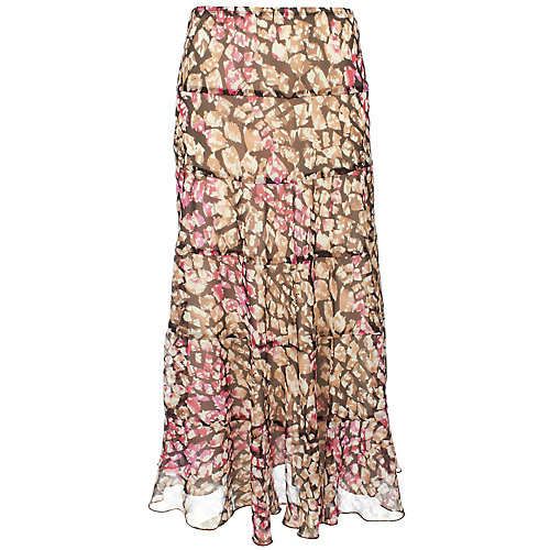 Hearts of Palm® Boca Rio Tiered Broomstick Skirt