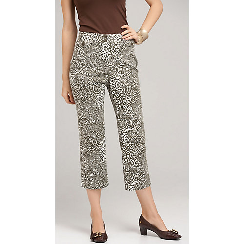 Jones New York Sport Print Capris