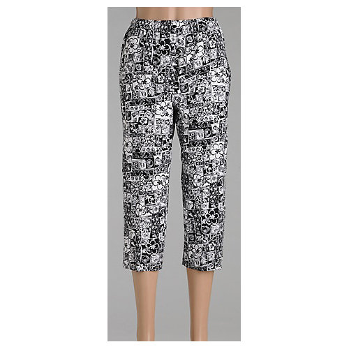 Alia® Tropical Blocks Microfiber Capris