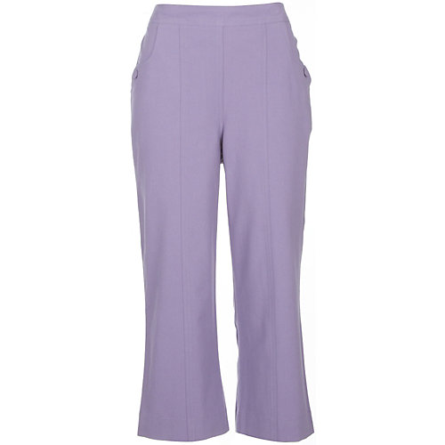Alfred Dunner Paradise Island Textured Capris