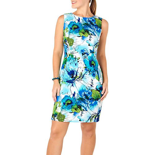 Ronni Nicole� Watercolor Floral Sleeveless Dress
