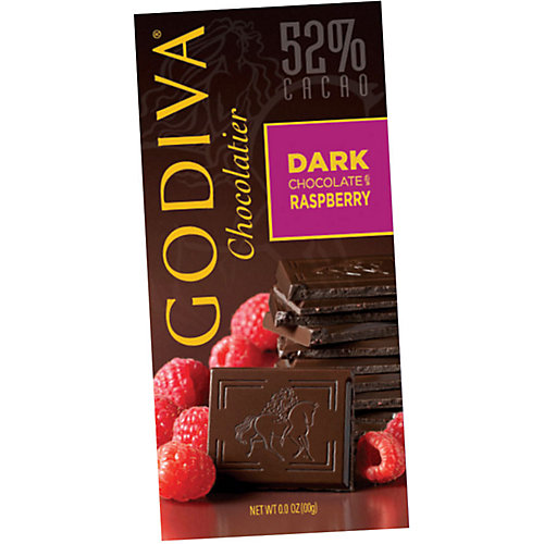 Godiva Dark Chocolate Raspberry Bar