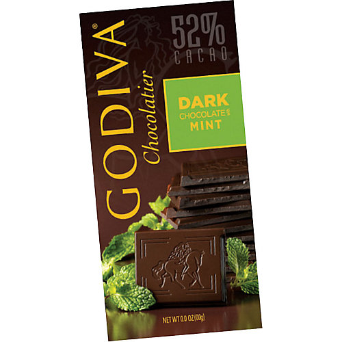Godiva Dark Chocolate Mint Bar