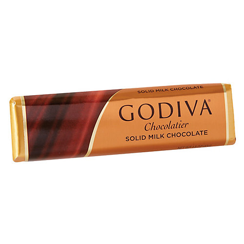Sure to delight the milk chocolate lover in your life, Godiva's 1.5 oz. solid Milk Chocolate Bar provides the intensity, richness, and smoothness of 