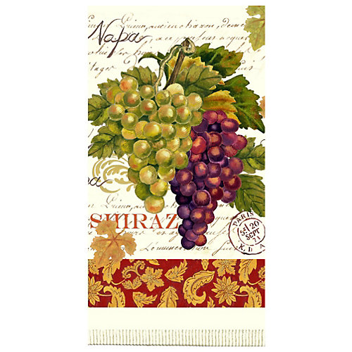 Kaydee Designs Wine Tour Terry Kitchen Towel