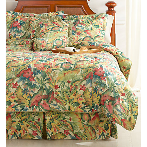 Palm Island Home Tropical Fusion 7-pc. Bedding Set