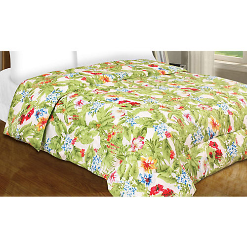Tropical Paradise Queen Comforter
