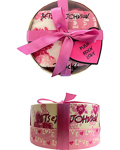 2 PACK PUNK ROCK LOVE CREW CREAM MULTI