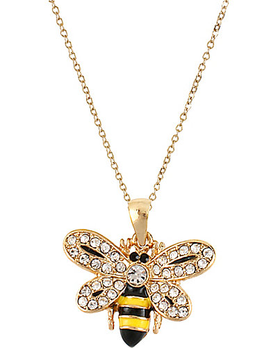 3 WAYS PAVE BEE PENDANT MULTI
