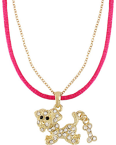 3 WAYS PAVE DOG PENDANT MULTI