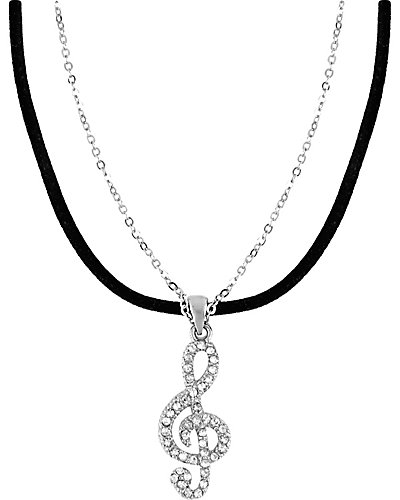 3 WAYS PAVE MUSIC PENDANT MULTI