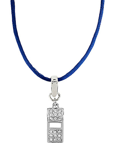3 WAYS PAVE WHISTLE PENDANT MULTI