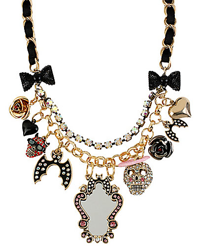 A&D MIRROR SHAKY FRONTAL NECKLACE MULTI