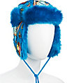 ANGEL CAKE TRAPPER HAT TEAL