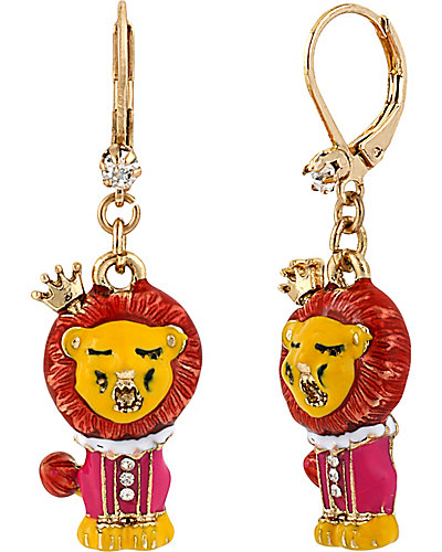 AT THE ZOO DROP EARRING MULTI