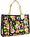 BE MY EVERYTHING EAST WEST TOTE BLACK MULTI