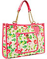 BE MY EVERYTHING EAST WEST TOTE CREAM MULTI