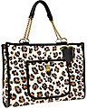 BE MY EVERYTHING EAST WEST TOTE LEOPARD