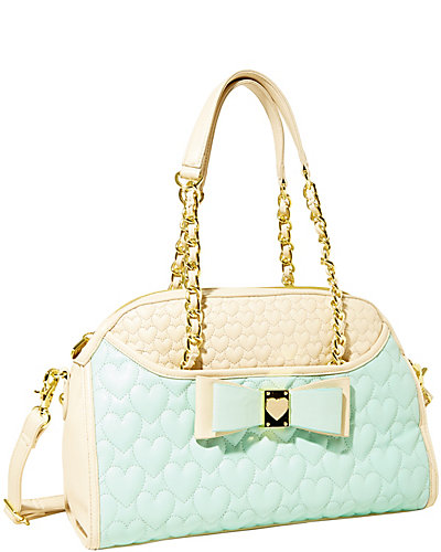 BE MY HONEY BUNS DOME SATCHEL MINT
