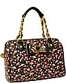 BE MY HONEY BUNS MEDIUM SATCHEL BLACK MULTI