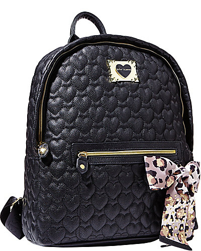 BE MY SWEETHEART BACKPACK BLACK