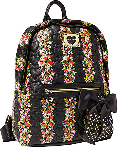 BE MY SWEETHEART BACKPACK FLORAL