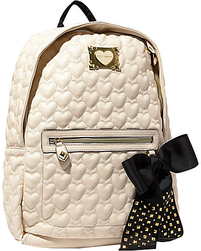 BE MY SWEETHEART BACKPACK IVORY