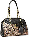 BE MY WONDERFUL DOME SATCHEL LEOPARD MULTI
