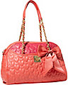 BE MY WONDERFUL DOME SATCHEL RED MULTI