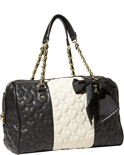 BE MY WONDERFUL SATCHEL BLACK BONE