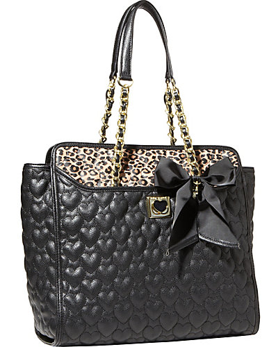 BE MY WONDERFUL TOTE LEOPARD MULTI