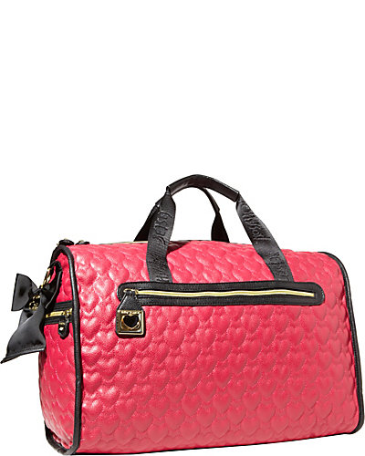 BE MY WONDERFUL WEEKENDER BLACK FUSCHIA