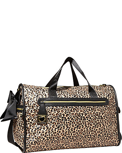 BE MY WONDERFUL WEEKENDER LEOPARD MULTI