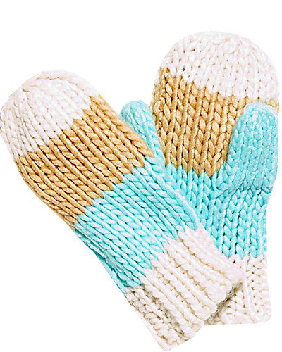 BEAD THE WAY MITTENS MULTI