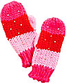 BEAD THE WAY MITTENS RED