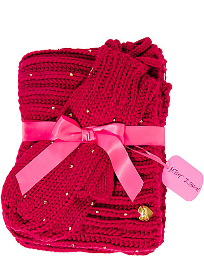 BEADING HEART EXCLUSIVE SET FUCHSIA