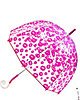 BETSEY BUBBLE STICK UMBRELLA PINK